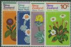 NZ SG983-6 Alpine Plants set of 4